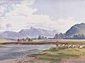 Jakob Alt - Ansicht des Kriváň von der Bela-Brücke bei Hrádek.jpeg