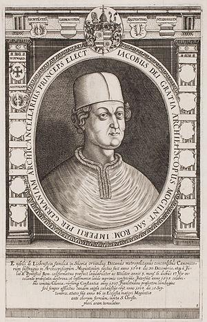 Jakob von Liebenstein - Jakob von Liebenstein (engraving 17th century)