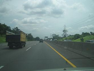 Jakarta–Cikampek Toll Road - Image: Jakpek 50