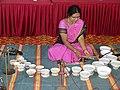 Jaltarang music concert by Vidushi Shashikala Dani at Banker's Colony Hubballi.jpg