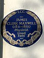 James Clerk Maxwell (1831-1879) physicist lived here.jpg