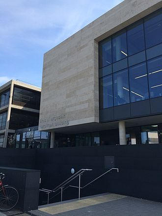 James Hardiman Library - Photo of new entrance after 2013 extension