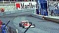 James Hunt - McLaren M23 Tabac at the 1977 Monaco GP.jpg