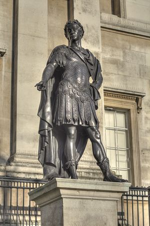 Statue of James II, Trafalgar Square - The statue in 2015