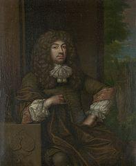 Portrait of Jan Boudaen Courten (1635-1716), lord of St. Laurens, Schellach and Popkensburg, Judge and alderman of Middelburg