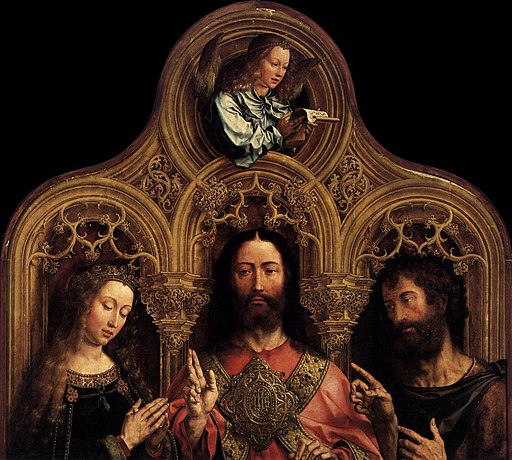 Jan Gossaert - Christ between the Virgin and St John the Baptist - WGA9766