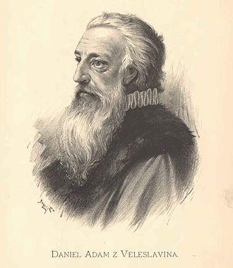 Daniel Adam z Veleslavína - Image: Jan Vilímek Daniel Adam z Veleslavína