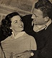 Jane Russell with her first husband Bob Waterfield, 1952.jpg