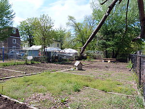 Southside Community Land Trust - The Janes Community Garden, a project of the Southside Community Land Trust
