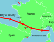 January 2009 Bay of Biscay storm tracker.png