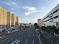 Japan National Route 3 in front of YOU ME Town Hakata 2.jpg
