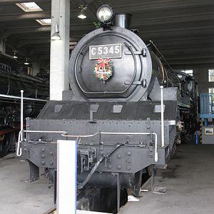 JNR Class C53 - Image: Japanese national railways C53 45 20111213