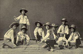 Scout Association of Japan - Japanese Boy Scouts – Yokohama, 1912 (from The Japan Gazette, 3 April 1912)