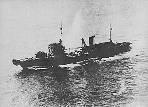 Hashima-class cable layer - Image: Japanese cable layer Tateishi in 1945
