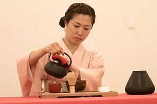 Tea culture traditions around preparing and drinking tea
