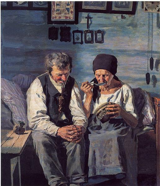 Jaroslav Spillar, Altenteil, 1904. Quelle: Wikimedia Commons