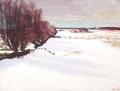 Jens Birkholm - Vinterlandskab - 1912.png