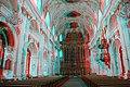 Jesuitenkirche Franz Xaver, Luzern. The nave (red-cyan anaglyph) - 001.jpg