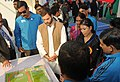 Jitendra Singh, Shri Rahul Gandhi, MP, Sports Personalities Mary Kom and Karnam Malleswari, during the launch of the National Youth Policy, 2014 (NYP) and Rajiv Gandhi Khel Abhiyan (RGKA), a Centrally Sponsored Plan Scheme.jpg