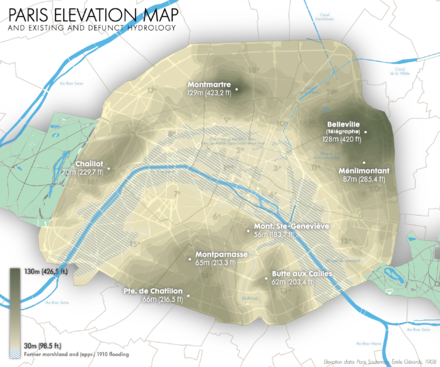 Parisian hills and hydrology Jms paris elevation hydrography.png