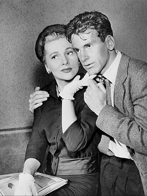 Westinghouse Desilu Playhouse - Joan Fontaine and Maximilian Schell appeared in the drama Perilous in 1959.