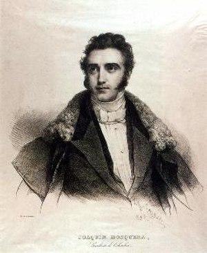 Joaquín Mosquera - Image: Joaquín Mosquera lithograph