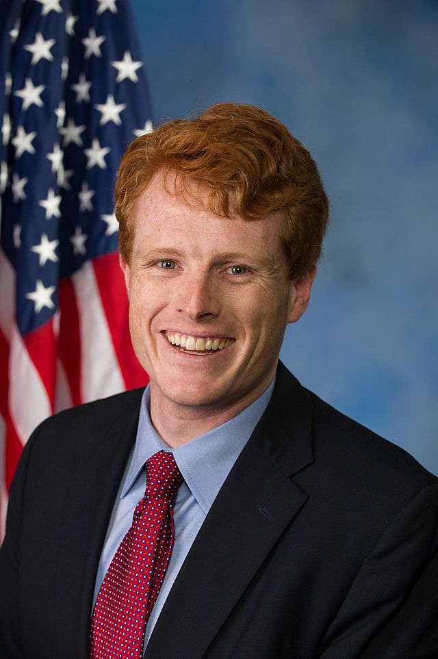 From commons.wikimedia.org: Joe Kennedy, Official Portrait, 113th Congress {MID-70423}