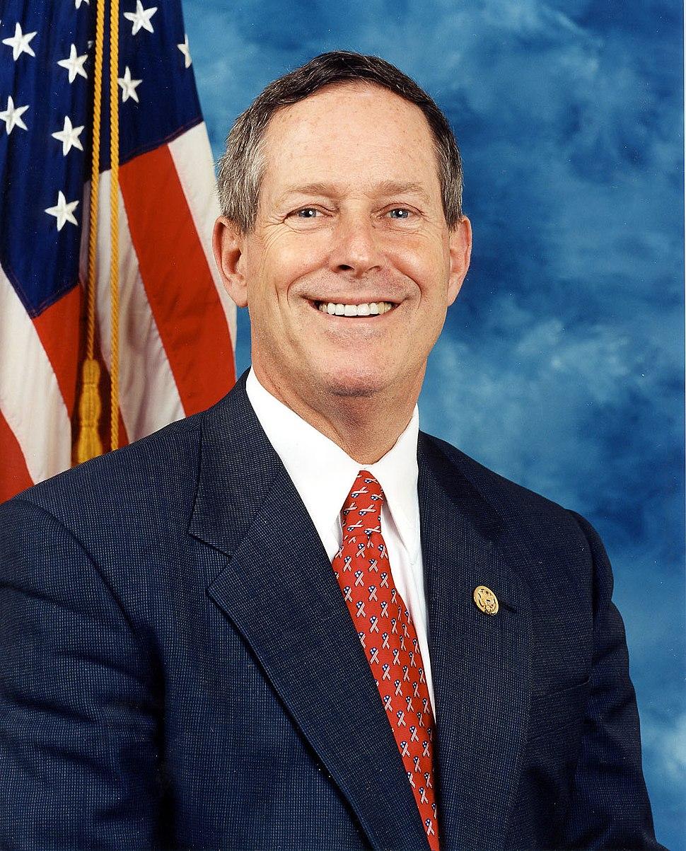 Joe Wilson, official photo portrait, color