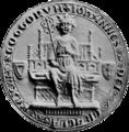 John, King of Scotland (seal).png