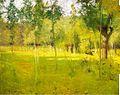 约翰 -  Twachtman春Landscape.jpg
