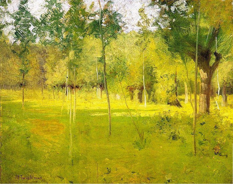 File:John-Twachtman Spring-Landscape.jpg
