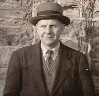 John Crowe Ransom - John Crowe Ransom at Kenyon College in 1941. Photo by Robie Macauley.