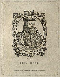 John Halle English surgeon, medical writer and poet