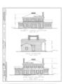 John Hossack House, 210 Prospect Avenue, Ottawa, La Salle County, IL HABS ILL,50-OTWA,1- (sheet 2 of 3).png