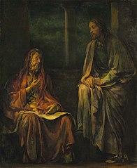 Visit of Nicodemus to Christ