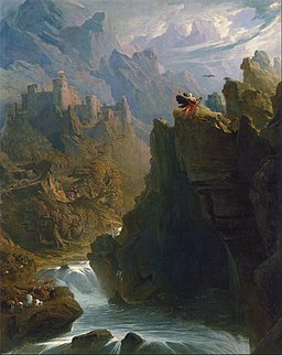 John Martin - The Bard - Google Art Project