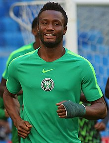 6287ac691b6 John Obi Mikel - Mikel training with Nigeria at the 2018 FIFA World Cup