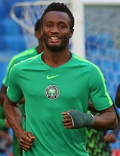 John Obi Mikel Nigerian association football player