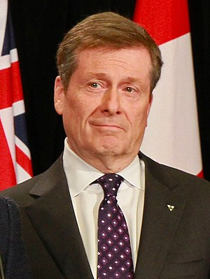 Mayor of Toronto - Image: John Tory 2014