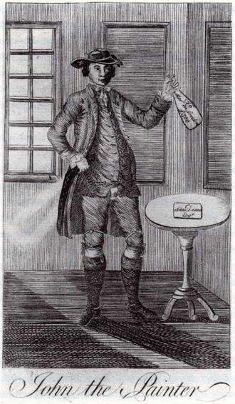 John the Painter - 1777 illustration of Aitken