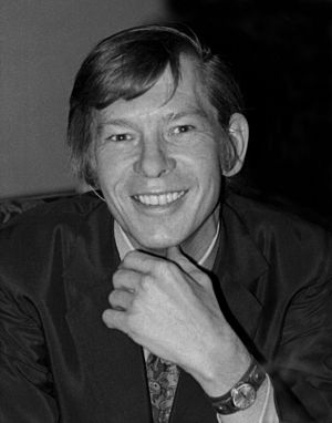 Johnnie Ray - Ray in 1969, as best man at Judy Garland's wedding in London, by Allan Warren.