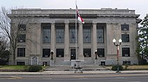 Johnston County, NC courthouse from NE 2.JPG
