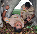 Joint Task Force-Bravo provides life support training for local firefighters 131023-F-BZ556-006.jpg