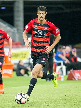 Jonathan Aspropotamitis - Aspro plays for Western Sydney Wanderers FC