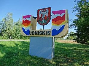 Joniškis - Image: Joniškis, ženklas