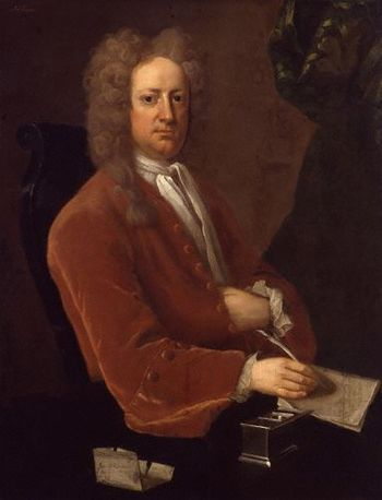 Joseph Addison by Michael Dahl lowres color