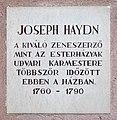 Joseph Haydn plaque Sopron Templom4.jpg
