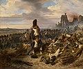 Joseph Louis Hippolyte Bellangé - Battle Scene - 1990.559 - Art Institute of Chicago.jpg
