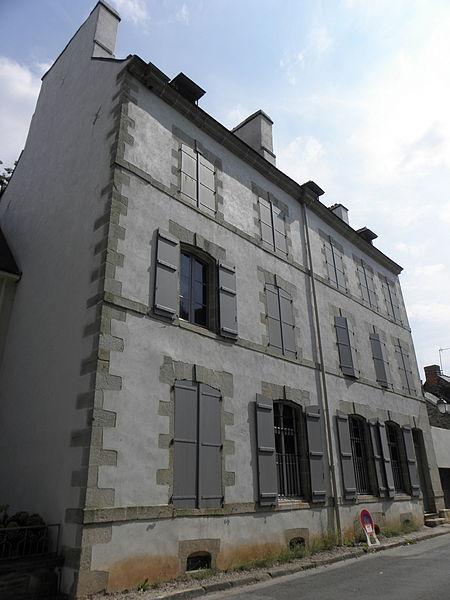 Immeuble inscrit sise 6 rue des Devins à Josselin (56).