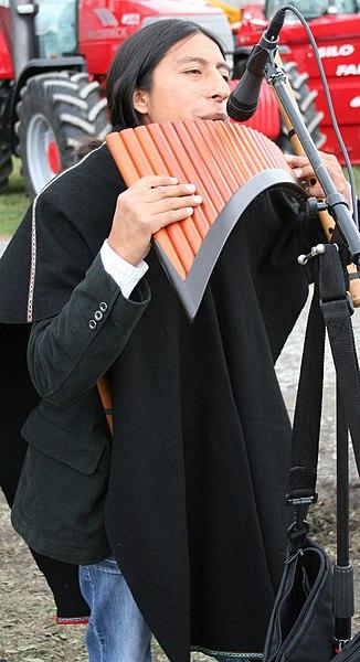 Joueur de flûte de pan